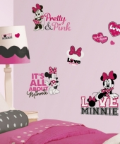Disney muurstickers minnie mouse
