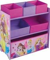Disney prinsessen opbergkast 6 vaks