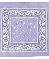 Doek paars met paisleyprint