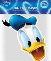 Donald duck masker van karton