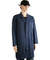 Donkerblauwe stofjas