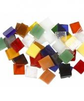 Doos met mozaiek tegels10x10mm 700 stuks