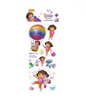 Dora 3d stickervelletje