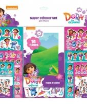 Dora stickers 500 stuks