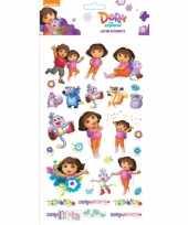 Dora stickervel groot