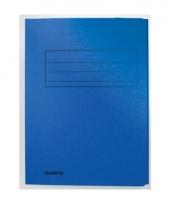 Dossiermap 24 x 35 cm blauw