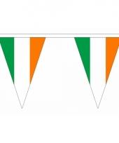 Driehoeks vlaggenlijn ierland