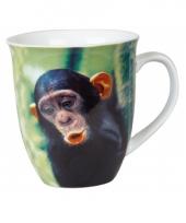 Drinkbeker chimpansee