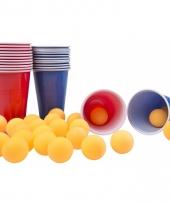 Drinkspel bier pong 24 ballen