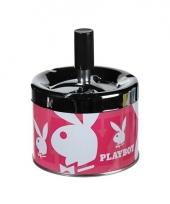 Druk asbak playboy roze
