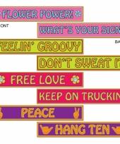 Dubbelzijdige hippie hangdecoratie