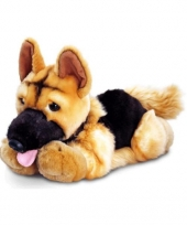 Duitse herder knuffel puppy 35 cm