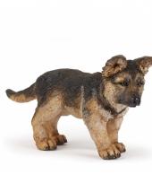 Duitse herder speelgoed hond 10057061