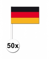 Duitsland zwaai vlaggetjes 50 stuks