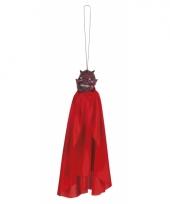 Duivel pop met cape 40 cm