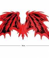 Duivel vleugels rood zwart