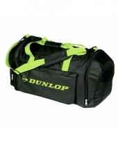 Dunlop sporttassen zwart groen
