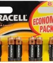Duracell batterij aa 8 pak