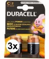 Duracell batterijen cr lr14 6 stuks