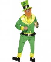 Dwergen kostuum groen
