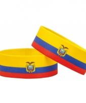 Ecuador fan armbandje