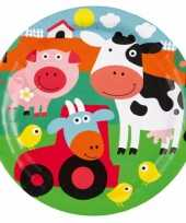 Eetborden boerderij dieren