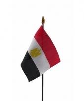 Egyptische landenvlag op stokje