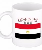 Egyptische vlag koffiebeker 300 ml
