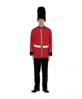 Engelse bewaker kostuum heren