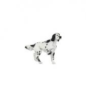 Engelse setter speelgoed jachthond