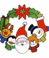 Etalage sticker kerst 30 cm