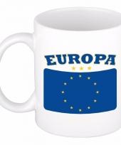 Europese vlag koffiebeker 300 ml