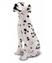 Extra grote dalmatier knuffel