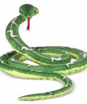 Extra grote slang knuffel 4 meter