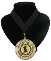 Fan medaille nr 1 lint zwart
