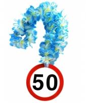 Feest 50 jaar bloemenslinger