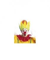 Feest clownspruik vlammen