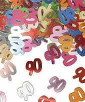 Feest confetti 90 jaar