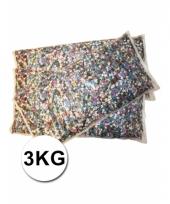 Feest confetti multikleur 3 kilo