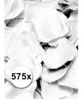 Feest rozenblaadjes wit 575 st