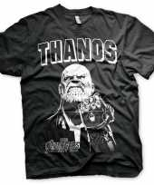 Feest t-shirt thanos infinity war voor heren