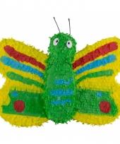 Feestartikelen pinata gekleurde vlinder