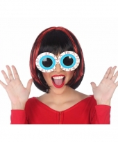 Feestbril oogballen