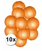 Feestpakket met oranje lampionnen
