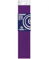 Feestversiering crepepapier paars