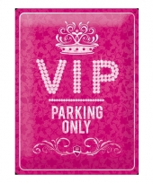 Filmster thema vip parking 30 x 40 cm