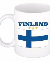 Finse vlag koffiebeker 300 ml