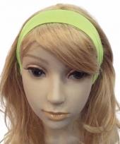 Fluor groene haarband