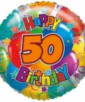 Folie ballon 50 jaar 35 cm