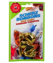 Fop bonbons knoflook smaak